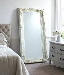 Large White Floor Mirror Find The Uniqueness Of Your House With