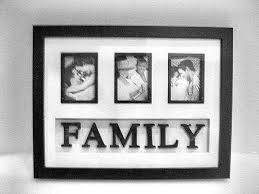 black photo frames multiple picture display friends family memories