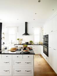 black and white kitchen design pictures. opt for architectural lines black and white kitchen design pictures