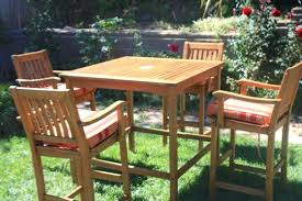 tall patio table. Pub Style Patio Furniture Sets Table Tall Outdoor Regarding Plans 8 U