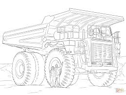 dump truck printable construction trucks coloring pages printable 648375