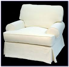 stylish nice t cushion chair slipcover club chair slipcovers t cushion home decorating ideas