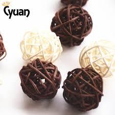 Decorative Vase Filler Balls Cyuan 100PCSLot Diameter 100CM Wedding Decorative Rattan Ball Rattan 21