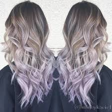 Light Purple And Silver Hair 30 Gorgeous Christmas Hairstyles To Brighten Your Holidays
