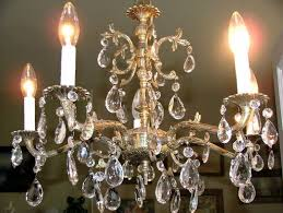 antique brass chandeliers with regard to popular residence spanish crystal chandelier decor