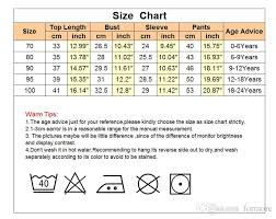 Newborn Baby Clothes Size Chart 2019 Famous Brand Newborn Baby Clothes Set For Toddlers Boys Short Sleeves Harem Pants Gentlemen Set For Kids Cool Loungewear Tracksuit From Formore