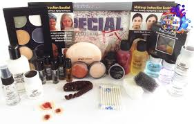 mehron all pro special fx kit is packed with a fantastic range of special fx and intructionals