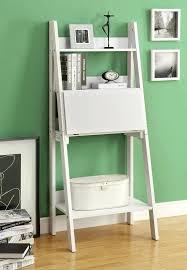 ladder desk and bookcase computer desk white ladder style at for only ladder shelf desk ladder desk