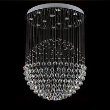 full size of lighting lovely sphere crystal chandelier 22 z d80cm x height 110cm modern round