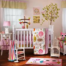 baby girl owl crib bedding nursery ideas