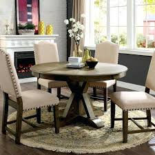 54 inch round dining table furniture of cooper rustic light oak round inch pedestal dining table