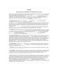 lease contract template 13 contract templates free sample example format free