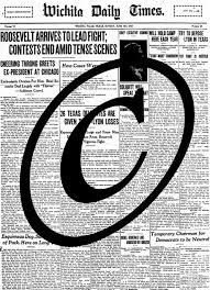 Write Your Own Newspaper Article Template Copyright The Newspaper Article The Legal Genealogist