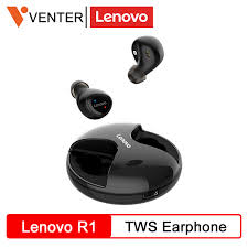 Original <b>Lenovo</b> R1 <b>TWS</b> Earphone Wireless Bluetooth Earbuds ...