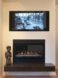 modern home tv above fireplace design pictures remodel decor and ideas page