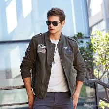 2018 new autumn and winter european and american style baseball air force flight jacket trend men s uniforms overalls shirt youth