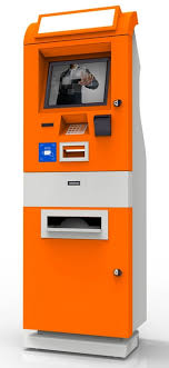 Vending Machine Bank Unique Touch Screen Ticket Self Service PC Terminal Cash Payment Vending