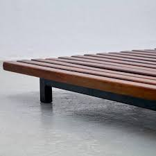mid 20th century charlotte perriand cansado low bench circa 1950 for