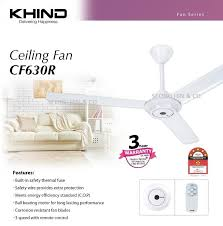 2set x khind cf630r ceiling fan with remote controller