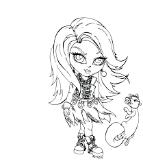 monster high pictures to print and color monster high baby coloring pages to print fresh color