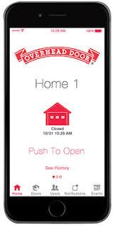 open garage door with iphoneOHD Anywhere  Garage Door Opener App
