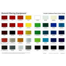 23 Experienced Kirker Automotive Paint Color Chart