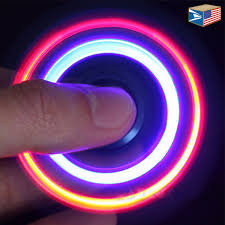 Image result for fidget spinner light up
