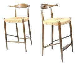 wishbone counter stool. Wishbone Counter Stool Danish Modern Bar Stools After At