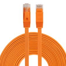 5M New <b>CAT6 CAT 6 Flat</b> UTP Ethernet Network <b>Cable</b> RJ45 Patch ...