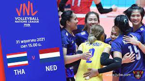 ถ่ายทอดสด วอลเลย์บอลหญิง เนชันส์ลีก 2021 ไทย vs เนเธอร์แลนด์ HD พากย์ไทย