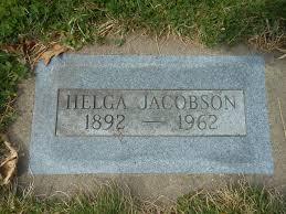 Helga Tweteen Jacobson (1892-1962) - Find A Grave Memorial