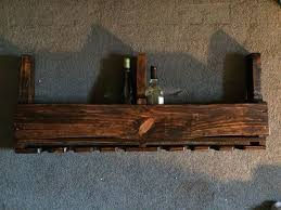 pallet wine rack instructions. This Was My First Project, Decided It Would Make A Great Christmas Present For The Girlfriend. Turned Out - Used Honey Stain Which Came Much Pallet Wine Rack Instructions