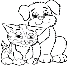Small Picture Cat Coloring Pages Coloring Pages Kids