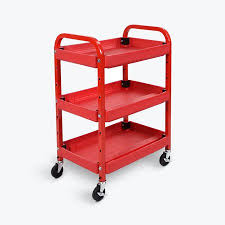 Walmart Utility Shelves Inspiration Offex OFATC60 Mobile 60 Shelves Adjustable Storage Utility Cart