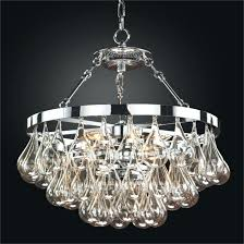 hand blown glass chandelier lighting within crystal uk glow