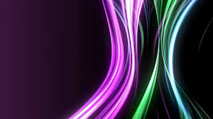 Moving Background Neon Rays Of Cool Color Tones Youtube
