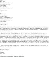 Cashier Cover Letter Sample Resume Web