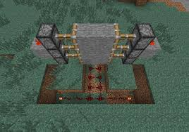 step 3 connect redstone to the opposite side of the door