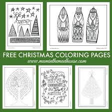 Christmas Coloring Paper Free Christmas Colouring Pages For Adults And Teens Mum In The