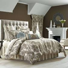 j queen new york venezia king comforter set crystal palace shams pillows taupe s