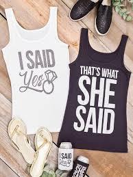 710 best bridesmaids images on pinterest bridesmaids, bridal Wedding Day Shirts bachelorette party shirts for every squad wedding day shirts for bridesmaids