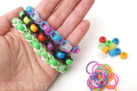 Bead Loom Bracelet Patterns Amazing Pony Bead Loom Band Patterns Finger Looming Red Ted Art's Blog