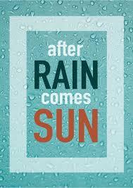 Nach Regen Kommt Sonne Urlaubsgrüße Postkarten Echte Postkarten