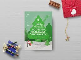 office party flyer office holiday party flyer template by wutip2 graphicriver