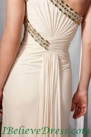 Dress Patterns Free Online Delectable Chiffon One Shoulder Evening Dress Empire Waist Floor Length 48
