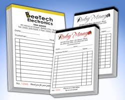 receipt book printing personalized invoice book dascoop info