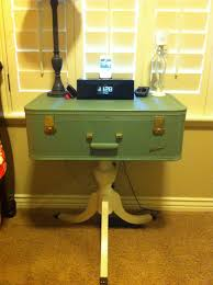 Suitcase Nightstand vintage suitcase nightstand love this one my master bedroom 6083 by guidejewelry.us