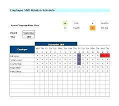 Schedule Excel Spreadsheet Spreadsheet Planner Maker Employee Time