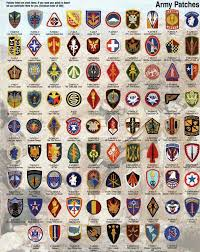 Us Army Patch Chart Us Army Patches Us Army Patches Army Patches Military