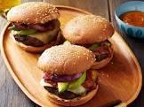 barbecue cheeseburgers